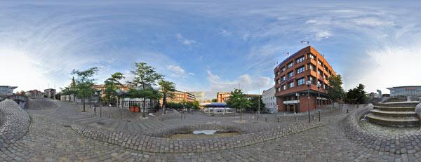Panorama Europaplatz Kiel