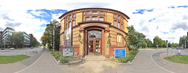 Alte Universitätsbibliothek Kiel - Medizinische Abteilung Brunswicker Straße