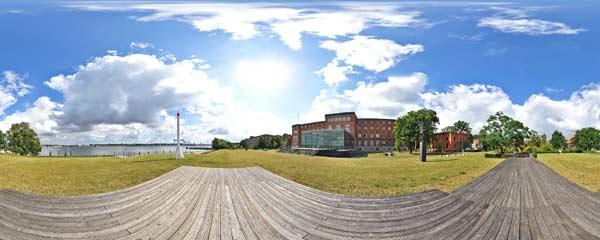 Landtag Kiel Panorama