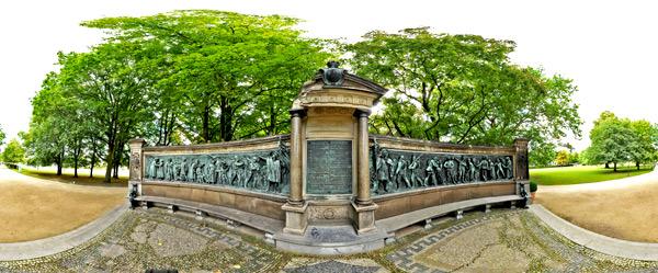Kriegerdenkmal im Kieler Schlossgarten