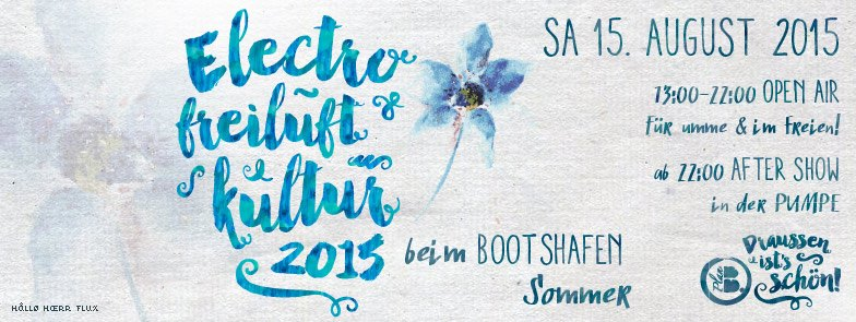 Electro Party Kieler Bootshafen