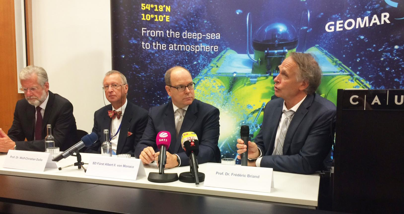Deutscher Meerespreis - Fürst Albert von Monaco in Kiel geehrt