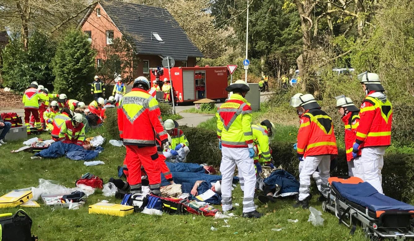 Anti-Terror-Übung Pandora in Kiel
