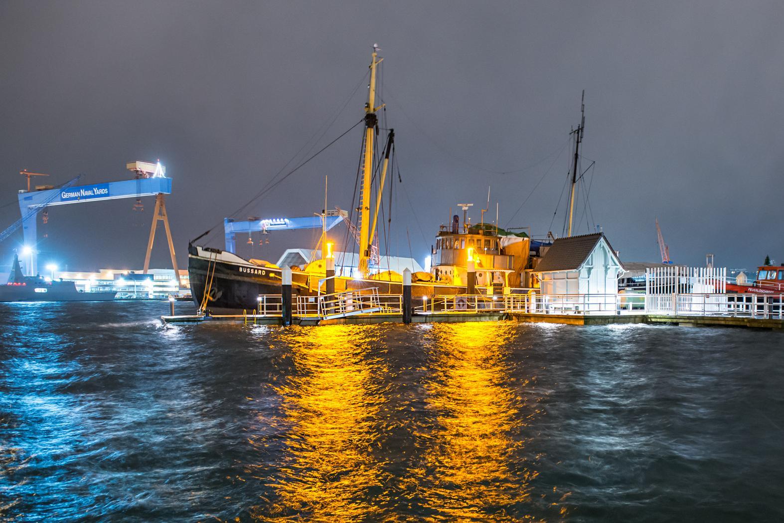 Kieler Förde Sturmtief Axel Ostsee
