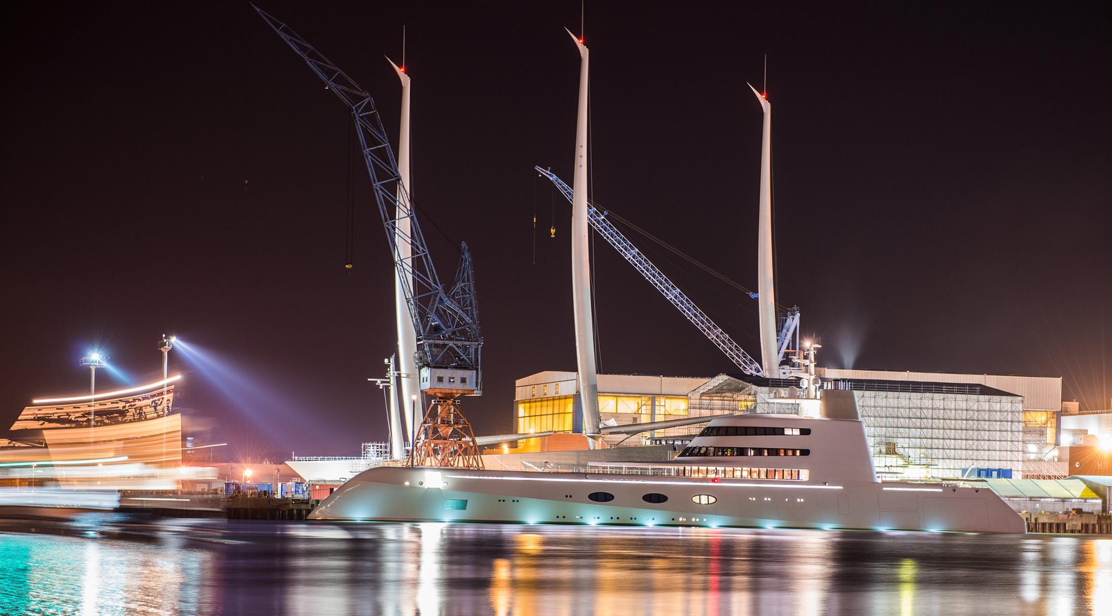 Sailing Yacht A Motor Yacht Kiel