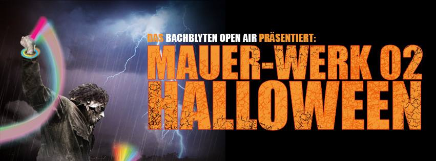 Mauerwerk 02 Halloween Special Räucherei Party 2014 Kiel