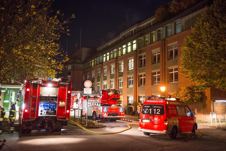 Feuer Kiel Lubinus Klinik