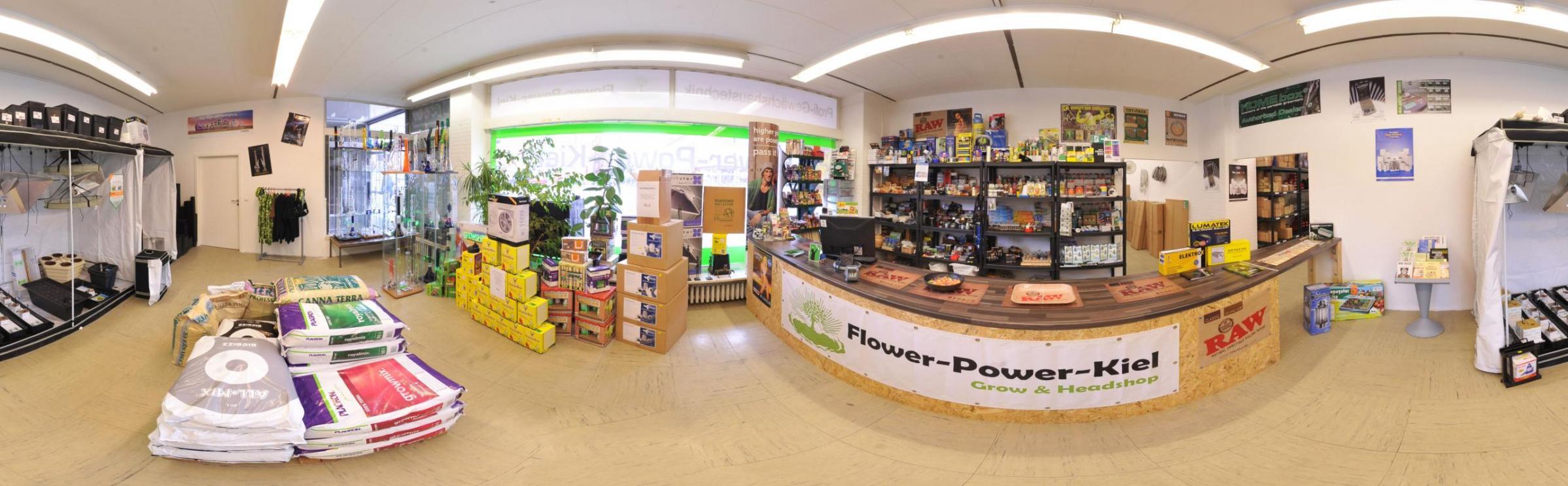 Growshop und Headshop in Kiel