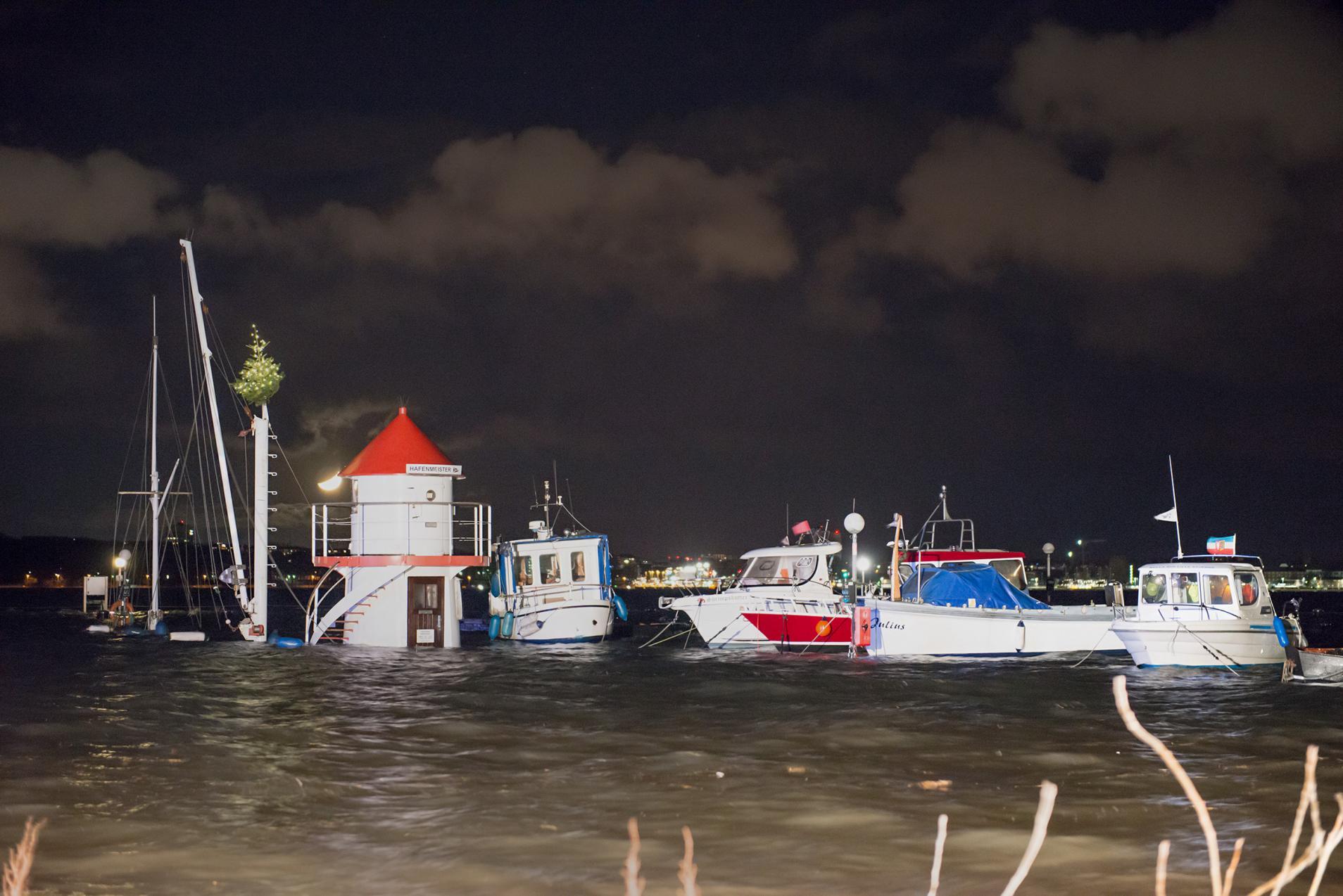 Sturmtief Axel Ostsee schwere Schäden