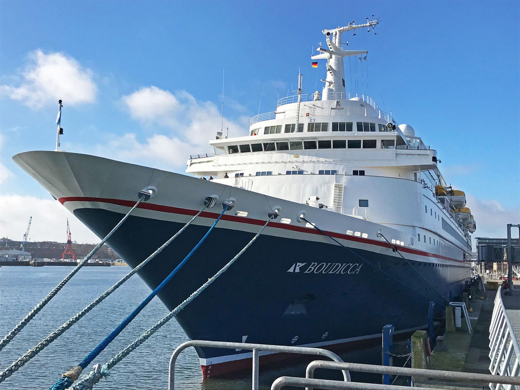 Kreuzfahrt Saison Kiel Tourismus Hafen Förde